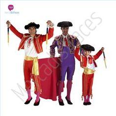 #Disfraces de #Carnaval de Toreros para grupos #mercadisfraces tienda de #disfraces online, #disfraces #originales y baratos para tus fiestas de #carnaval o #halloween