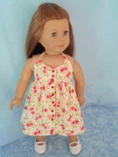 NEW  American Girl Doll Endless Summer Halter Top by izzadorabelle