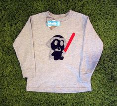 Sewing Wars  Dark Vader Toddler Long Sleeve by micielomicielo, $28.50
