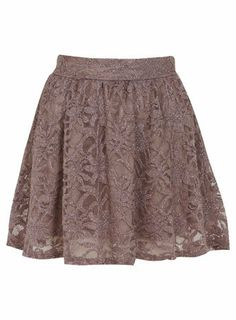 Petites Glitter Lace Skirt - Shorts & Skirts - Going Out on Wanelo