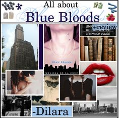 """""""All About: Blue Bloods by Melissa De La Cruz +review"""" by hipstertipsters ❤ liked on Polyvore"""