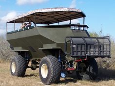 This might be the Ultimate ZAV (Zombie Apocalypse Vehicle)!