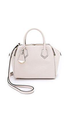 100ba26bb0 Rebecca Minkoff Mini Perry Satchel Top Handle Bag Play Dress