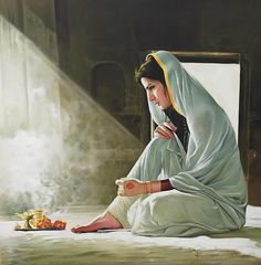 Kamal Rao is an Indian artist and painter, known for his realist works. Indian Women Painting, Indian Art Paintings, Indian Artist, India Painting, Online Painting, Woman Painting, Sexy Painting, India Art, Realistic Paintings