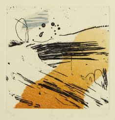 Danielle Creenaune, Lost Track II, woodcut, etching, chine colle, drypoint on 380 x 280 mm paper, from an edition of 30, 2008. NZ$225 incl GST.