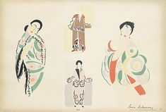 Sonia Delaunay  drawing model