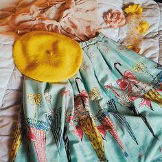 Emily Temple Cute Rabbit Umbrella skirt by @josinemaaike on Instagram