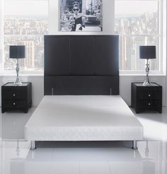 Chelsea 5ft King Size Divan Bed Base Only On Legs Stuff