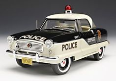 pictures of Nash cars | Highway 61 1:18 1959 Nash Metropolitan 1500 Police - Diecast Zone