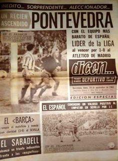 Crónica dun Partido de Lenda: Pontevedra 1- 0 Atlético de Madrid