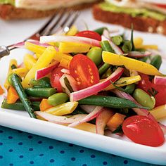 Multibean Salad | CookingLight.com #myplate #vegetables