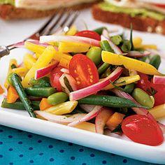Multibean Salad | CookingLight.com #myplate #vegetables