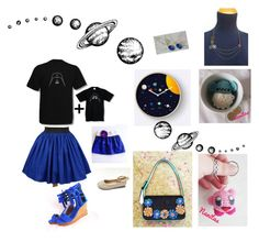 To the moon and back by nanitas23 on Polyvore featuring polyvore fashion style Disney Nintendo Raton clothing