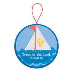Sailboat+With+Inspirational+Verse+Craft+Kit+-+OrientalTrading.com