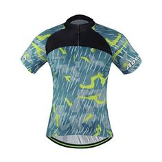 aef2cfcf2 AOGDA Unisex Cycling Team Jersey Short Sleeve Cycling Jersey  Sz S-3XL  (9  Colors)