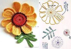 mesh modelo de produção de flores