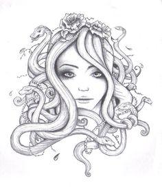 Medusa Drawing Tumblr Album covers, <b>medusa drawing</b> and <b>drawings</b> on pinterest