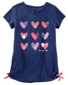 Toddler Girl TLC Love Print Tunic from OshKosh B'gosh. Shop clothing & accessories from a trusted name in kids, toddlers, and baby clothes.