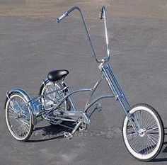 WOW! I never searched for a Lowridertrike, but thats the Top. :-)