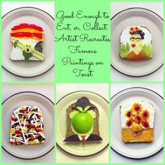 Good Enough to Eat, er, Collect: Artist Recreates Famous Paintings on Toast (PHOTOS)
