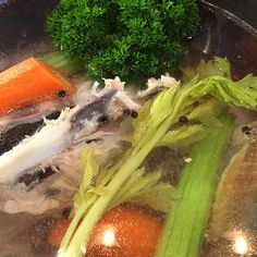 It's a soup-making weekend, so we started off by making a simple light chicken stock. A good stock is an essential base for many soups, and it really does pay to take the time to make your own stoc...