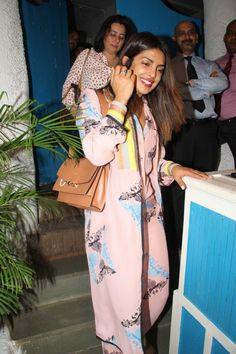 Priyanka Chopra snapped at Olive Bar