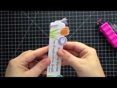 Creating A Bookmark Tassel (New SSS Release!)