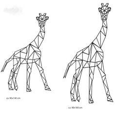 LOVE THE KIDS grote giraf muur sticker - Love The Kids ♥ Baby- en Kinderkleding, Schoenen en Accessoires