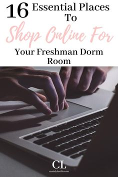 Here are the best stores to shop at online for dorm decor. Have the trendiest dorm items shipped to right to your door! Dorm Room Desk, Cozy Dorm Room, Dorm Room Storage, Dorm Room Necessities, Dorm Essentials, Cheap Dorm Decor, Dorm Decorations, College Dorm Organization, College Hacks