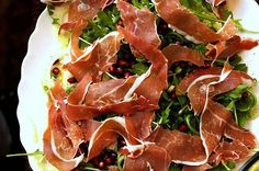 fennel, prosciutto and pomegranate salad by smitten, via Flickr