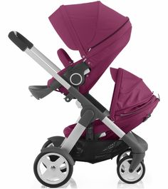 Stokke Crusi Double Stroller - Purple