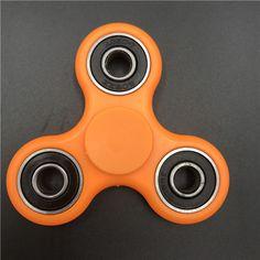 Red Bronze Cents Dollar Alloy Hand Spinner Tri Fidget Focus EDC Finger Spin Gyro