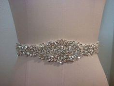 Wedding Belt, Bridal Belt, Sash Belt, Crystal Rhinestone  - Style B200087 by LucyBridalBoutique on Etsy https://www.etsy.com/listing/180150959/wedding-belt-bridal-belt-sash-belt