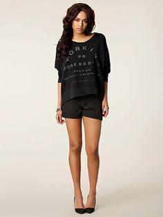 Elma Shorts - Rut&Circle - Svart - Byxor & Shorts - Kläder - Kvinna - Nelly.com