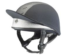 The low profile Pro II skull does double duty keeping your head safe and cool. When combined with the Charles Owen helmet silk, ventilation holes located at the front and the back of this helmet allow the air to flow, while interwoven silver ions provide anti-microbial protection against sweat and odors.  The GRpx® technology creates an unparalleled fit and heat reflective paint is available in gold and silver, along with a regular finish in traditional black and playful pink.