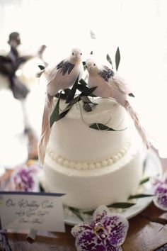 Dove Cake Toppers