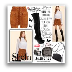 """SheIn"" by naida-piric ❤ liked on Polyvore featuring Kendall + Kylie, Urban Decay, Avon and WALL"