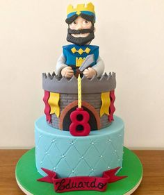 Clash Games provides latest Information and updates about clash of clans, coc updates, clash of phoenix, clash royale and many of your favorite Games Torta Clash Royale, Lego Font, Royal Cakes, Knight Party, Royal Party, Clash Of Clans, Birthdays, Birthday Cake, Candy