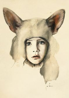 Kareena Zerefos | kareenazerefos - From the menagerie. Graphite, markers and ink on paper (2010-2011)
