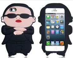 Tanboo PSY Gangnam Style Silicone Case for iPhone 5 (Black) Cool Iphone Cases, Best Iphone, Iphone 4, Ipod Touch Cases, Ipod Cases, Psy Gangnam Style, Smartphone, Cheap Iphones, Accessoires Iphone