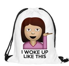Just in! Emoji Series Draw... Check it out here http://swipeepic.com/products/emoji-series-drawstring-bag?utm_campaign=social_autopilot&utm_source=pin&utm_medium=pin  Like it, and Share it, or tag a friend !