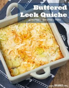 ... Leek Quiche on Pinterest | Quiches, Quiche Recipes and Cheese Quiche