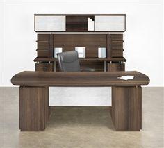 Mayine Medina Series Office Suite Desk With Credenza Pinterest Desks And Credenzas