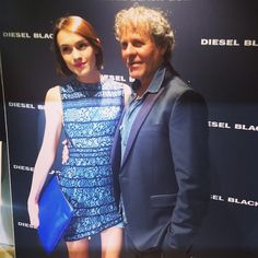 With Renzo Rosso at the @diesel LCM party