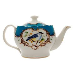 Enchanted Blue Tea Pot