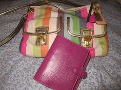 Coach and Filofax ensure i look superbly stylish and organised, even if the reality doesn't quite match up.