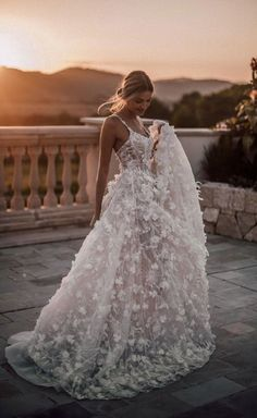 All you need is a beautiful sunset and a Galia Lahav couture wedding gown. The, All you need is a beautiful sunset and a Galia Lahav couture wedding gown. The All you need is a beautiful sunset and a Galia Lahav couture wedding go. Couture Wedding Gowns, Wedding Dress Trends, Dream Wedding Dresses, Bridal Dresses, Prom Dresses, Lace Wedding, Evening Dresses, Wedding Ideas, Couture Bridal