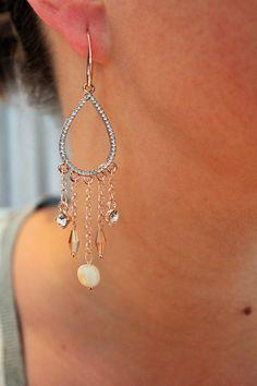 #Earrings #Rosegold #Silver #Sweet7