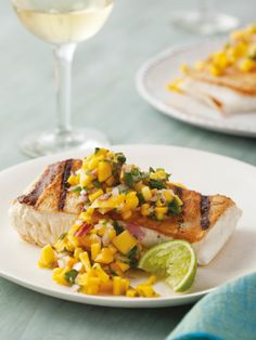 Recipes from The Nest -  Mango Salsa