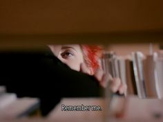 Eternal Sunshine for the Spotless Mind - Remember Me